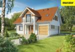 Проект одноэтажного дома с мансардой  - Муратор Ц236
