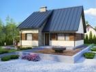 Проект небольшого дома с подвалом